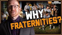 Steve Hofstetter gets honest about his fraternity (Sigma Phi Epsilon - SigEp)