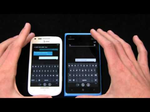 Samsung Focus 2 vs. Nokia Lumia 900 Part 1