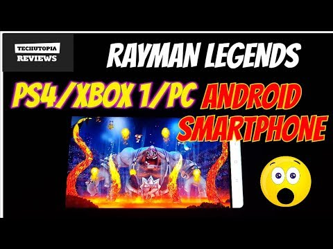 Rayman Legends Gameplay On Android Gloud App/PS4/Xbox One/PC Games/using Xiaomi Phone