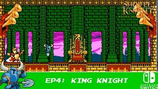 Pridemoor Keep [King Knight] - Shovel Knight: Treasure Trove - Part 4 [Nintendo Switch] [100%]