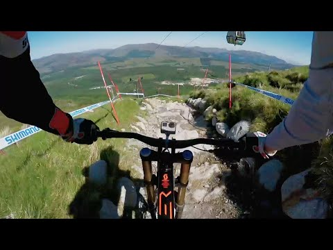 Claudio Caluori's GoPro Preview of the  2016 UCI MTB Fort William Track