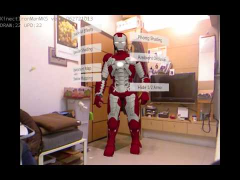 DIY Iron Man Suit by Kinect