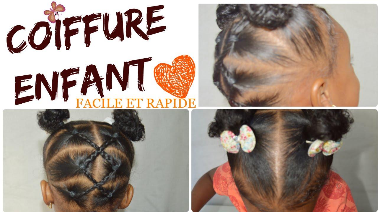Coiffure simple pour l\u0027école 🎒 ✏ ✰[TUTO] Tout type de cheveux ( bouclés,  crépus, lisses) , YouTube