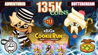 CookieRun คุกกี้รันเก็บเงิน 135,037 Coins เซตคอมโบเก็บเหรียญได้มากที่สุด Best Farming Coins | xBiGx