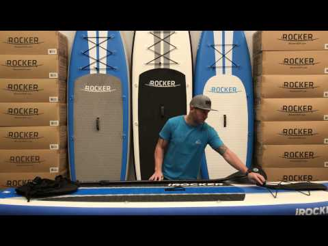 iRocker Inflatable Paddle Board Kayak Conversion