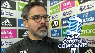 🧢HEAD COACH COMMENTS | David Wagner on Cardiff draw