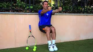 Tennis Leg Strength Exercise | Pat Cash Fitness