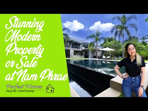 Modern Style House With 3 Rai Land For Sale - *Only 833,839 USD! Presented by Luna!!*