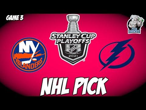Tampa Bay Lightning vs New York Islanders 6/17/21 Free NHL Pick and Prediction NHL Betting Tips