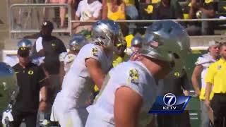 Highlights: Nebraska's comeback comes up short in loss to Oregon