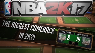 BIGGEST COMEBACK IN 2K?!