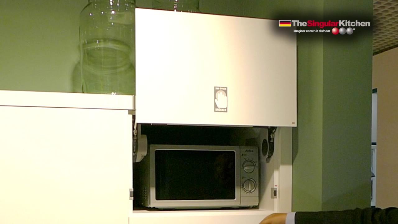 Muebles de cocina microondas youtube - Microondas de diseno ...