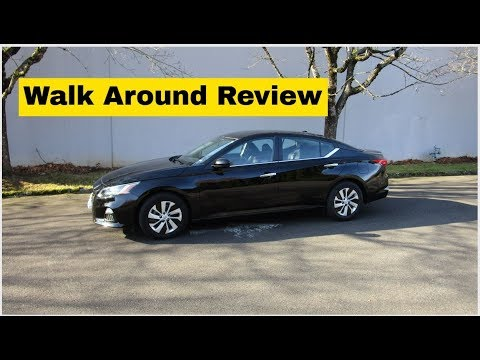 2019 Nissan Altima Review - Features and Configurations:  Engines, Trim Levels, Options and Features