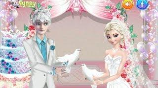 Frozen Elsa and Jack Wedding Холодное сердце Эльза и Джек Свадьба
