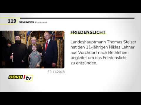 OÖVP.tv Die Oberösterreich-News vom 30.11.2018
