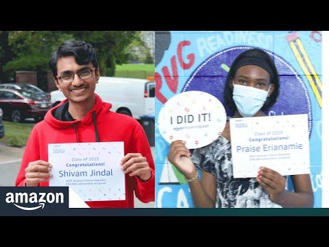 亚马逊未来工程师向加拿大学生颁发首批大学奖学金