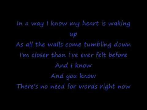 Breathe-Faith Hill (Lyrics)