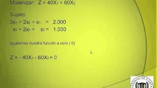 EL METODO DUAL SIMPLEX