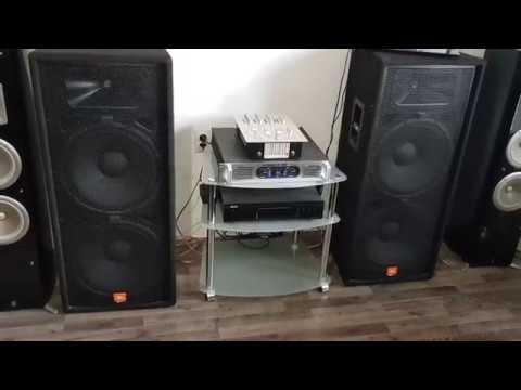 JBL JRX 125 2x1000W & Dap Audio Palladium 1600 2x900W