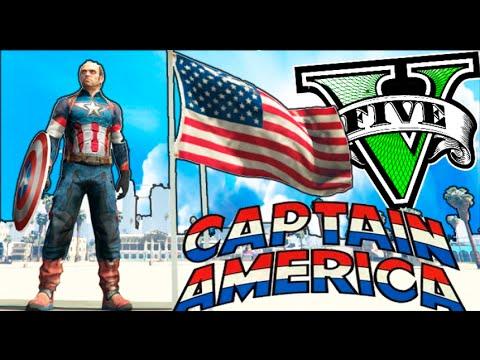 Download GTA V MODS PC CAPITAN AMERICA!! EL PRIMER VENGADOR DE GTA 5!! GTA 5 MOD PC Makiman