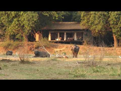 Chiawa Camp in Lower Zambezi National Park, Zambia