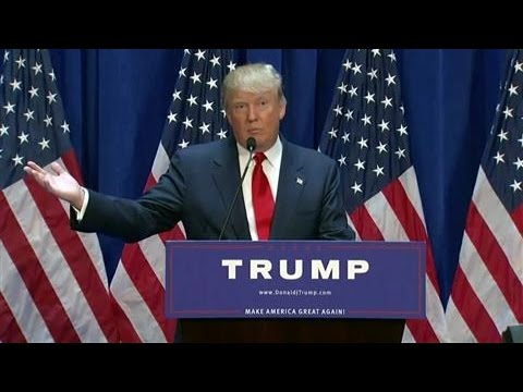 Donald Trump Announces Presidential Campaign Mp3