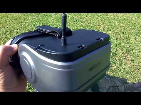 MJX Bugs 8 FPV Monitor/Goggles Testing