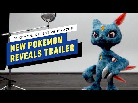 Detective Pikachu - New Pokemon Reveals Trailer (2019) Ryan Reynolds, Justice Smith