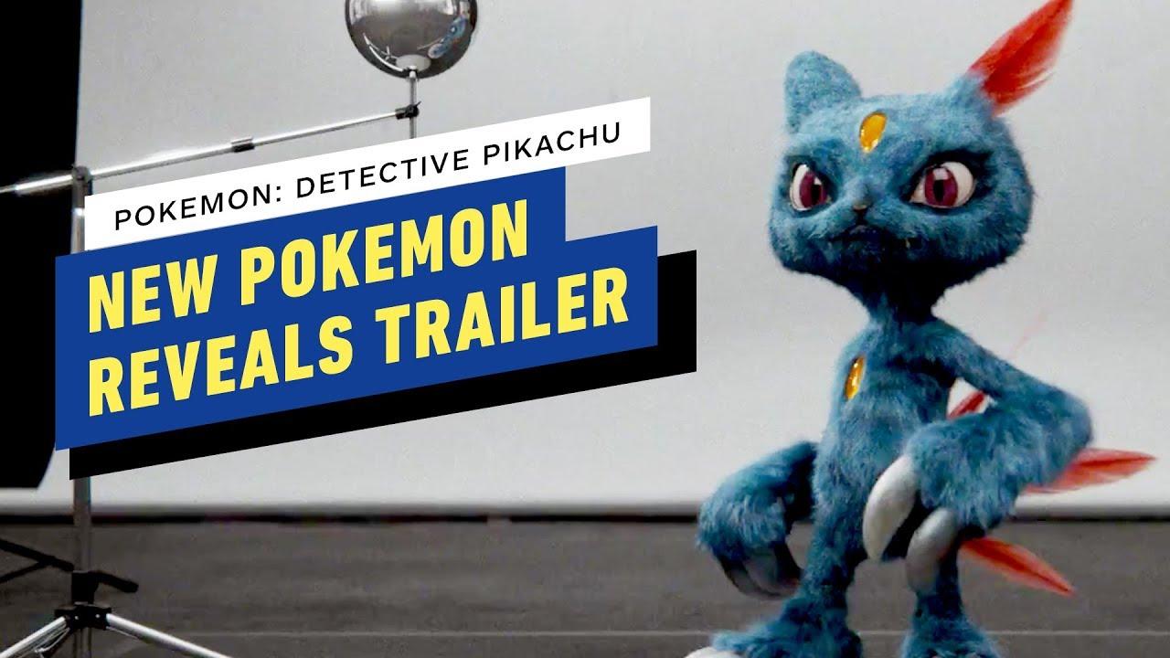 Detective Pikachu New Pokemon Reveals Trailer 2019 Ryan