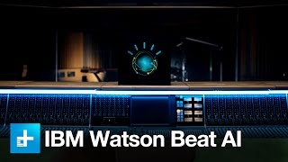 IBM's artificial intelligence program Watson Beat uses digital audi...
