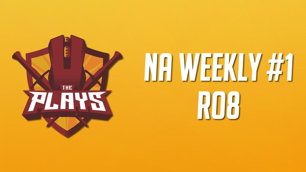 Ronin vs. Back Rubs (Map 3: Lijiang Tower) || The Plays NA Weekly
