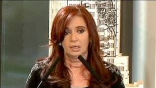 Kirchner slams Cameron comments as