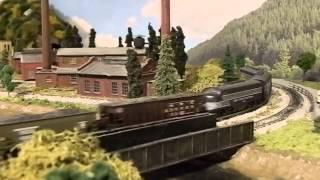 N scale New York Central & Susquehanna Railroad