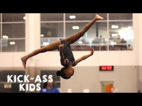 10 Year Old Gymnast Set To Become Olympic Star | KICK-ASS KIDS
