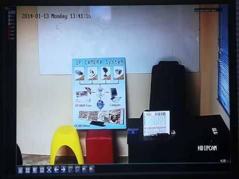 Anthem วิธีการตั้งค่า NVR + IP camera model : MI720HD