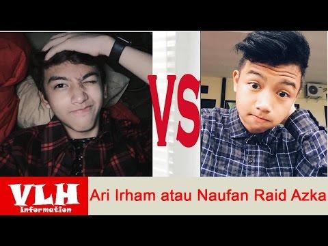 Gantengan Mana Ari Irham atau Naufan Raid Azka  dalam Film Super Puber di SCTV
