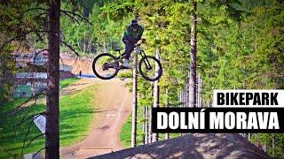 Trail park Dolní Morava: Velkolepá bikerská zábava!