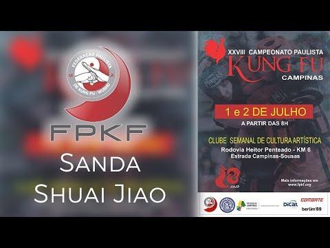 Campeonato Paulista de Kung Fu 2017 - Sanda e Shuai Jiao