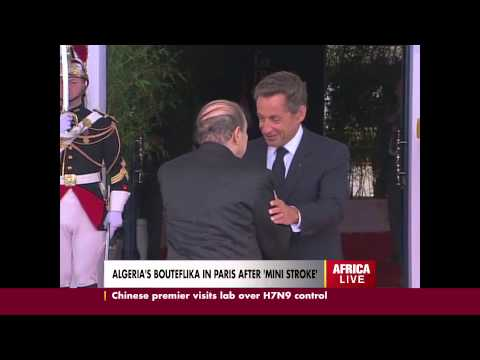 Algeria's Bouteflika in France After Minor Stroke