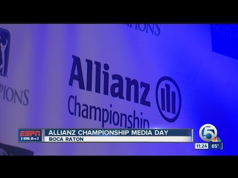 Allianz Championship Media Day
