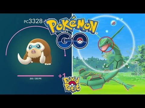 PRIMERAS INCURSIONES DE RAYQUAZA! LAS MT'S ME TROLEAN CON MAMOSWINE! [Pokémon GO-davidpetit] thumbnail