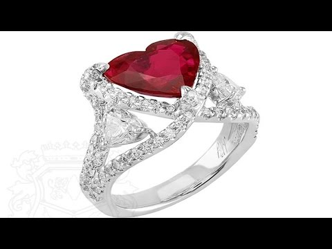 top 6 the highest quality heart shaped design diamond