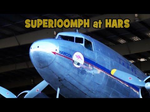 HAWDON TAA DC3 HARS ARRIVAL