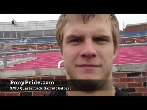 SMU Quarterback Garrett Gilbert