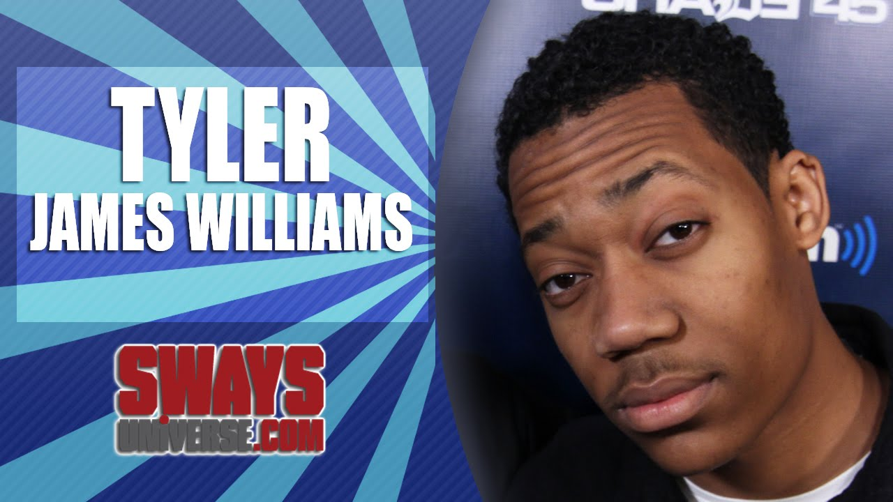 the walking deads tyler james williams talks filming the