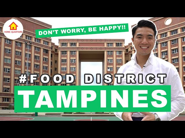 Tampines Good Food and Special Buildings to visit! |Food District Ep 3
