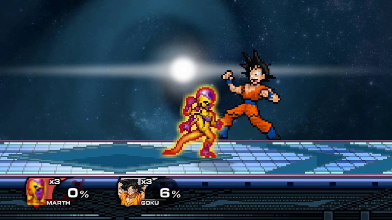 Dragon Ball Super Goku Vs  Golden Frieza SSF2 Mod Gameplay