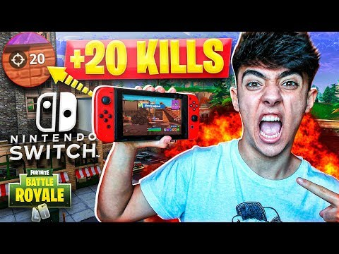 ¡MI MEJOR PARTIDA EN NINTENDO SWITCH! (+20 KILLS) - Agustin51