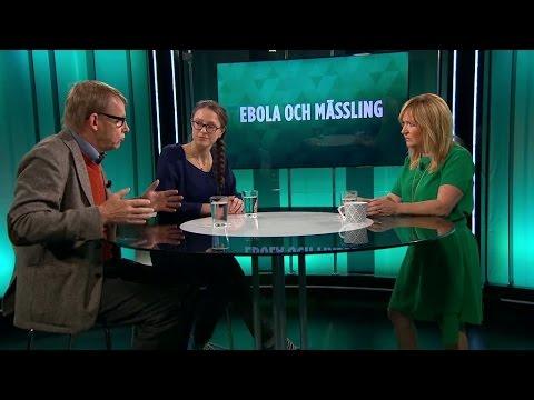 Hans Rosling och Helena Nordenstedt om ebola - Malou Efter tio (TV4)