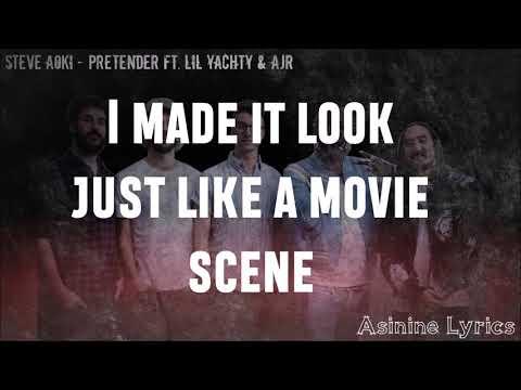 Steve Aoki - Pretender (Ft. AJR & Lil Yachty) [LYRICS VIDEO]